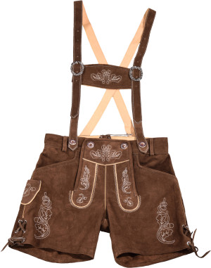 Dámské kožené kalhoty, krátké