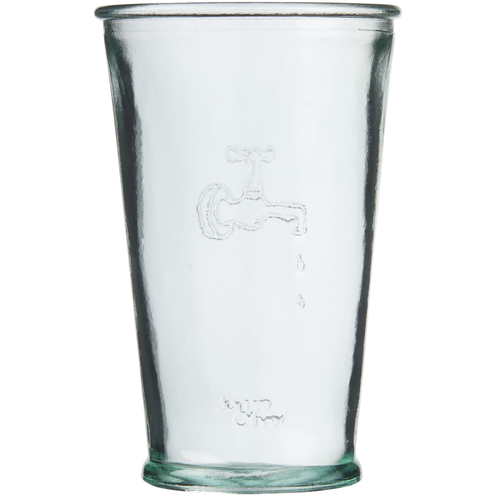 Karafa na vodu s pohárom