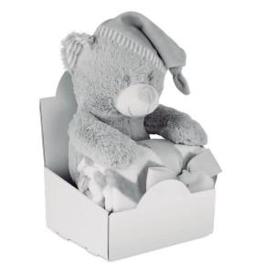 OSSET plyšový medvídek s dekou