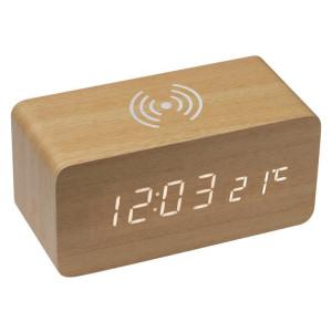 Dřevěné stolní hodiny