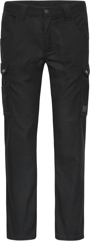 Pracovní cargo kalhoty M -Solid-