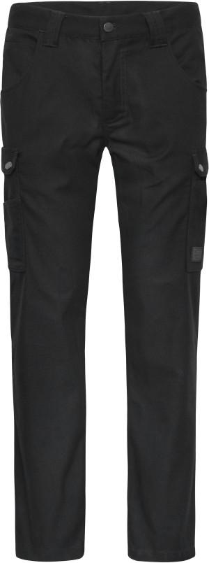 Pracovní cargo kalhoty S -Solid-