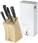 Reklamnepredmety Sada 5 nožů v dřevěném bloku Essential