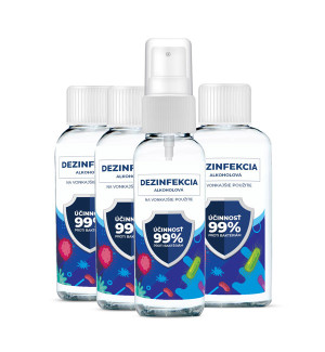 Sada 230 ml alkoholová dezinfekce