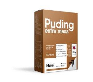 Extra Mass Puding karton / 6 x 35 g / 6 dávek