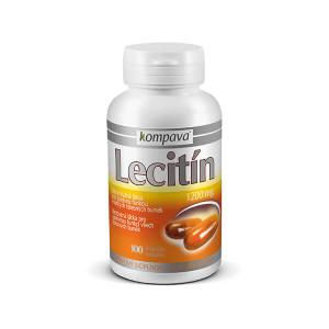 Lecitin 1200 mg 1200mg/100 kps