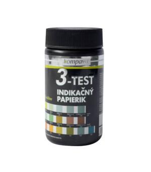 Lakmusový papírky 3v1 3-Test