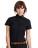 Reklamnepredmety Dámská popelínová košile Elastane s krátkým rukáve