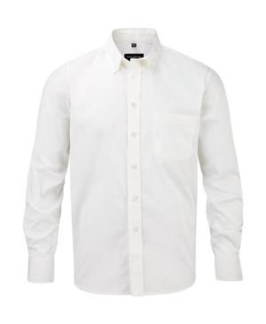 Pánská košile Twill s dlouhým rukávem