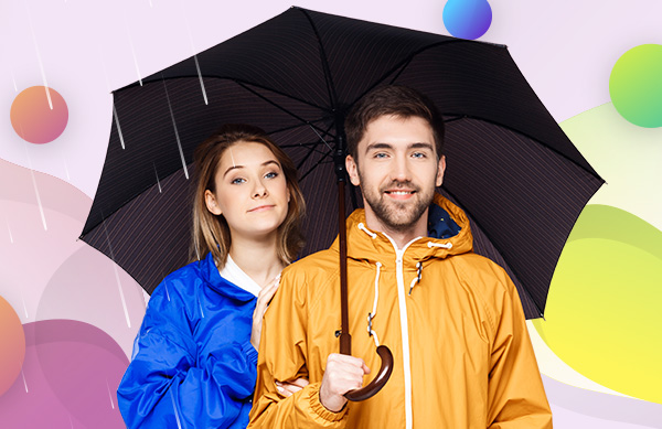 Deštníky a pláštěnky jsou praktické reklamní předměty