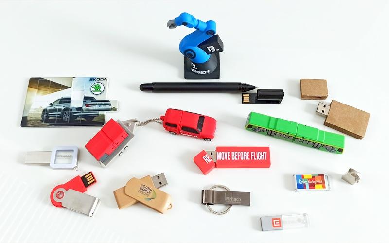 USB klíče s potiskem
