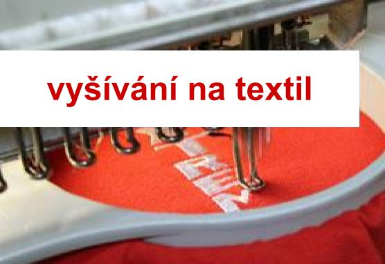 Vyšívání na textil